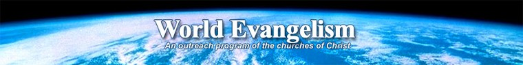 World Evangelism Banner